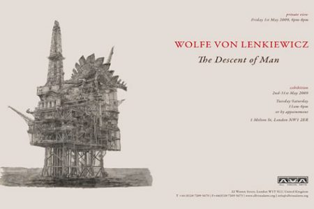 Wolfe von Lenkiewicz Exhibition Opens at All Visual Arts London