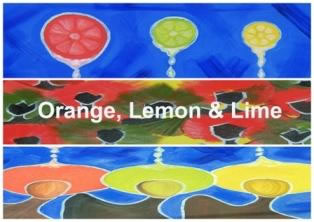 """Orange, Lemon & Lime. A selection of recent works in oils by Melanie """"Shay"""" LaRocque"""