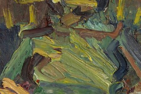 Picture of a Frank Auerbach Muse to Sell at Bonhams