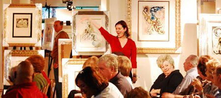 BATERBYS ART AUCTION GALLERY INAUGURAL EVENT AT NEW FACILITY IN DELRAY BEACH