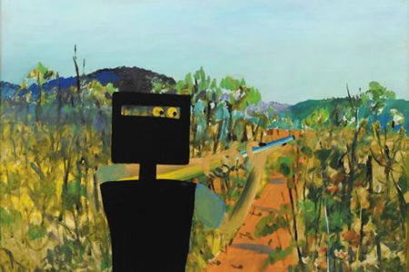 Gleeson O'Keefe Foundation provide funds to acquire Sidney Nolan's First-class marksman