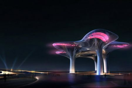 Floating Xiamen Museum Proposed by MAD Architects