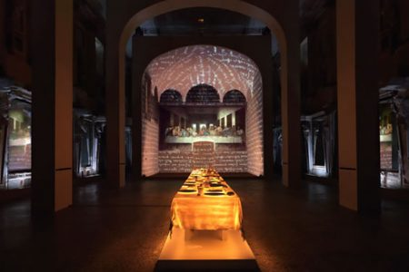 Leonardo's Last Supper: A Vision by Peter Greenaway at Park Avenue Armory