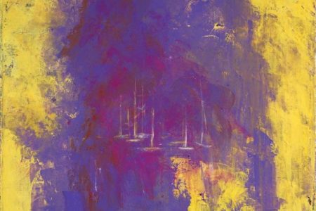 Bold stokes of Color in Recent Abstract Expressionist Paintings  by Artist Susan Swartz at ART PALM BEACH