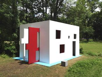 Parc Saint Leger presents Jean-Pascal Flavien breathing house, la maison respire