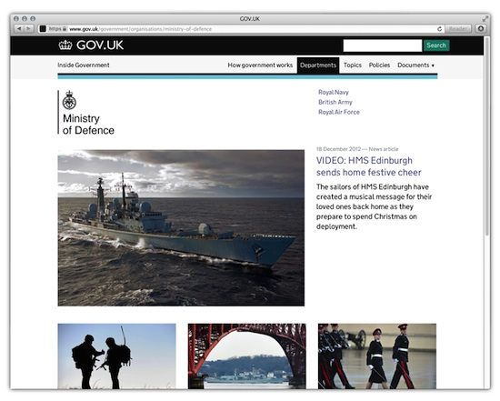 GOV.UK-website