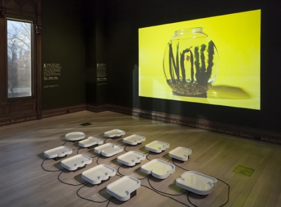 Six Things: Sagmeister & Walsh. Exhibition view, The Jewish Museum. Photo: David Heald/The Jewish Museum, © 2013.