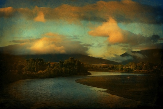 Jack Spencer. Yellowstone River, 2005. Archival pigment print, 44 x 63 in. Courtesy of the artist. © Jack Spencer