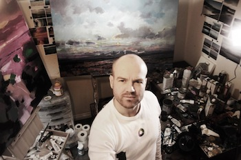 Costley & Costley hosts art demonstration by leading Scottish contemporary landscape artist