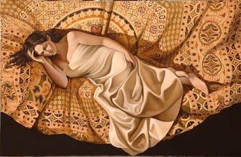 Mario Roncaccia's Trompe L'oeil Symbolist Paintings
