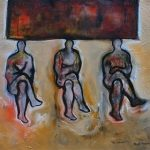 Cuban artist Angel Alonso in Masters of the Imagination: The Latin American Fine Art Exhibition