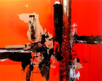 Ines de Poligny. Using Color and Form to Bring Opposites Together