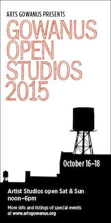 Gowanus Open Studios 2015