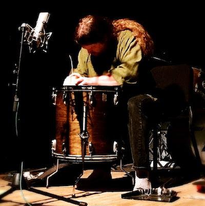 Andrew Drury on Floor Tom
