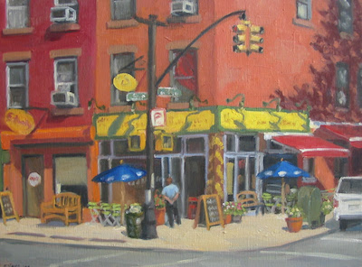 Fabio Scalia Salon + Art Space is pleased to present Brooklyn Moments  by local artist Ella Yang