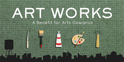 TWO DAYS until Gowanus ArtWorks 2016