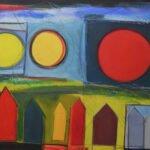 La Luna Solo exhibition by Jo-Ann Acey at 440 Gallery