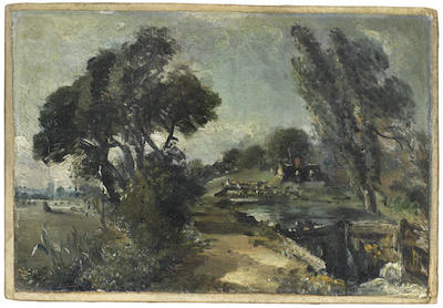 John Constable Sketch Sets Word Record