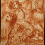 MARC CHAGALL DRAWINGS AUCTIONED BY WOODSHED GALLERY