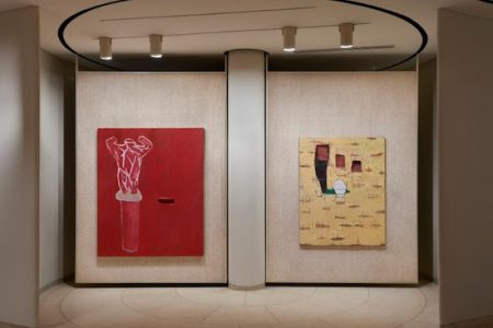 Julian Schnabel: Paintings that I hope Philip and David would like at The Glass House