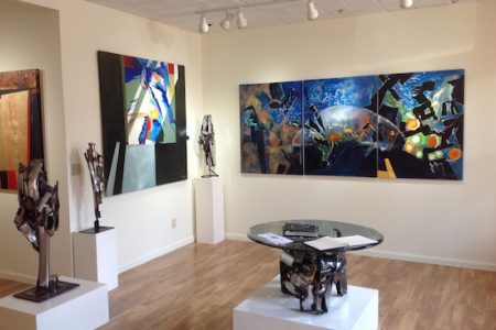 "Fraser Leonard Fine Art Gallery Celebrates ""2nd Anniversary"" With Art Exhibition Featuring Metal Sculptures & Paintings"