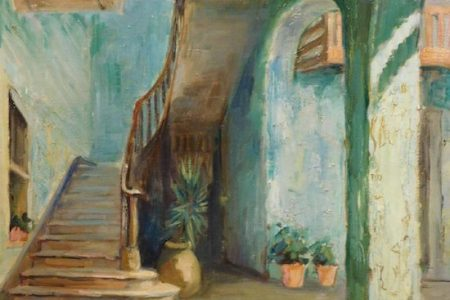 CROPSEY, CHASE, TWOMBLY, CHAGALL AND LAM ARTWORKS FOR WOODSHED ART AUCTION