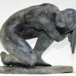Enrique Alferez bronze sculpture for Bruneau and Co sale