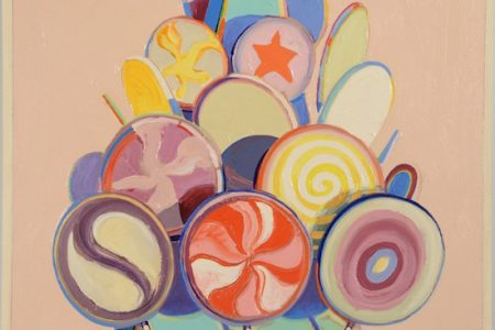 PAINTING BY WAYNE THIEBAUD  FOR NADEAU'S SALE