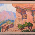 OIL PAINTINGS BY BIRGER SANDMEN FOR WOODY AUCTION'S SALE