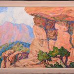 PAINTINGS BY BIRGER SANDZEN (1871-1946) SOLD AT WOODY AUCTION'S GRAND OPENING SALE