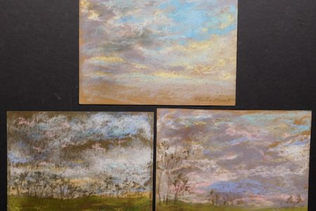 PASTEL DRAWINGS BY CLAUDE MONET FOR WOODSHED ART AUCTIONS ONLINE ART AUCTION