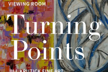 "Viewing Room Opens Jill Krutick's ""Turning Points,"" a Visual Diary of the Artist's Painting Series"