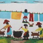 Paintings by George Rodrigue and Clementine Hunter for Crescent City Sale