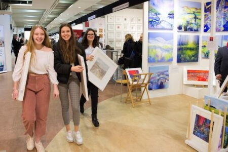 CONTEMPORARY ART FAIRS – SURREY  UK