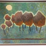 ROBINSON MURRY SIEBE JOHANNES TEN CATE AND ROMARE HOWARD BEARDEN PAINTINGS SOLD AT BRUNEAU & CO