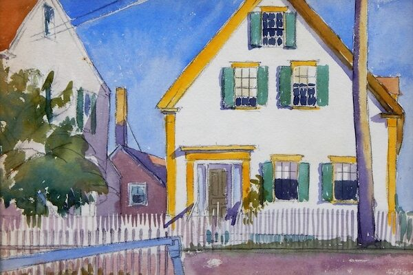 Bruneau & Co to Sell George Copeland Ault Watercolor