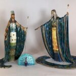 SCULPTURES AND WORKS ON PAPER BY ARTISTS ERTE AND LOUIS ICART FOR NEUE AUCTIONS ONLINE SALE