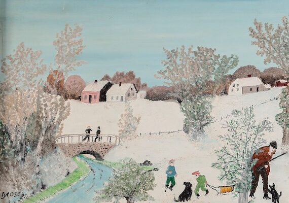 Andrew Jones Auctions to Offer Anna Mary Robertson (Grandma) Moses Works