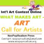 INVITE to Int'l Art Contest online WHAT MAKES ART - ART