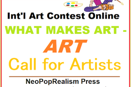 INVITE to Int'l Art Contest online WHAT MAKES ART – ART
