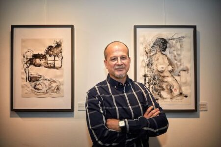 Alfred Freddy Krupa wins 1st World Award in Painting and Artist of the Year title at the 13th International InterArtia Art Festival